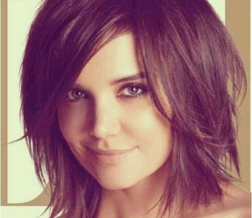 short haircut for short hairstyle Suits a round face