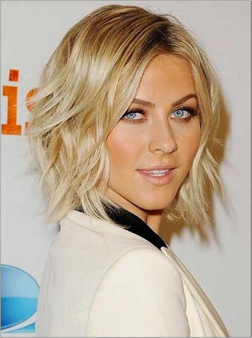Folded short hairstyles 2019  3