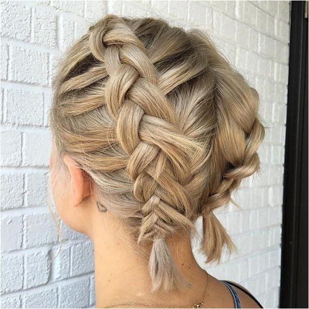 Short braid hairstyles 2019 - 5