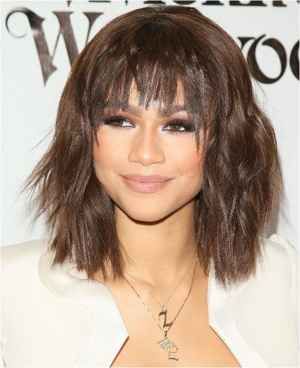 Short hairstyles with bangs 2019 2