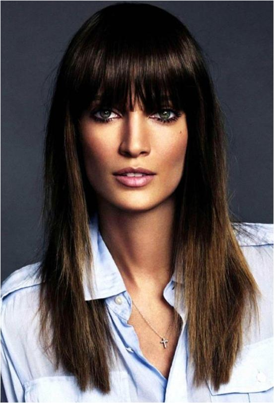 Short hairstyles with bangs 2019 5
