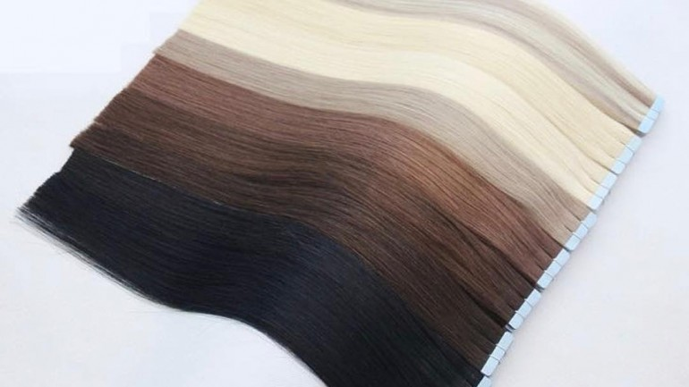 2019 trend halo hairextension for thin hair 3