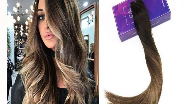 2019 trend halo hairextension for thin hair 6