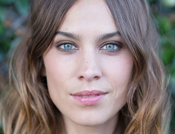 Alexa Chung hairstyle ombre