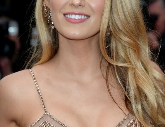 Blake Lively hairstyle ombre