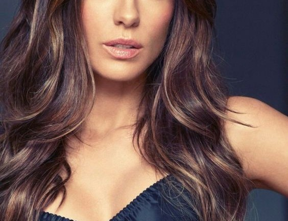 Kate Beckinsale ombre color hairstyle