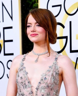 hairstyles are in for 2019 for round faces celebrities emma stone