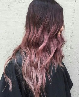 pink ombre hair color 2019