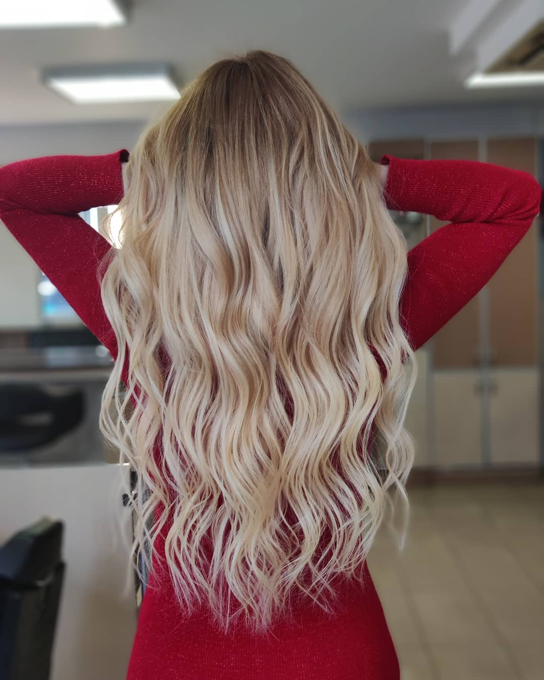 1.Dirty Blonde Curly 8