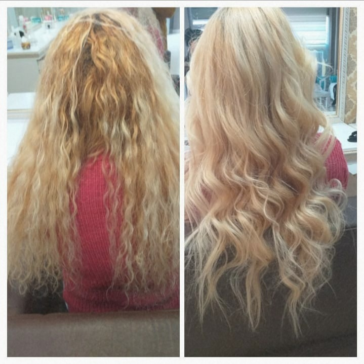 1.Dirty Blonde Curly 2