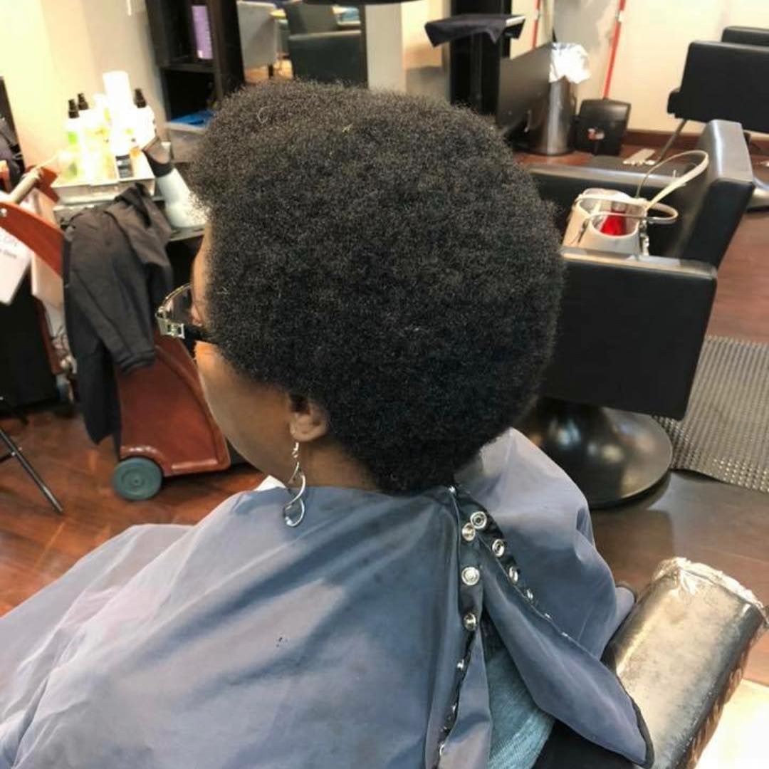 Cropped Natural Curls 2019 2