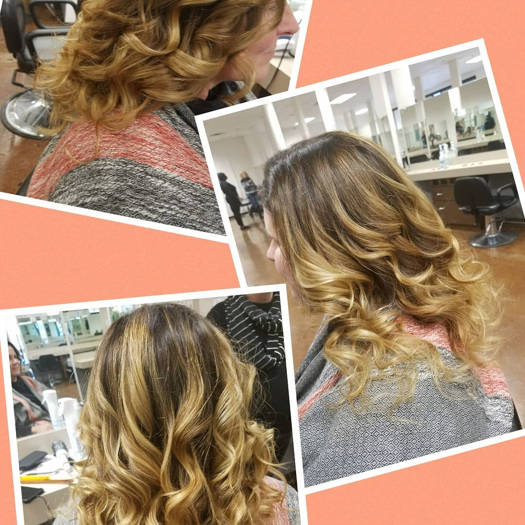 Side-Parted Style With Curls 2