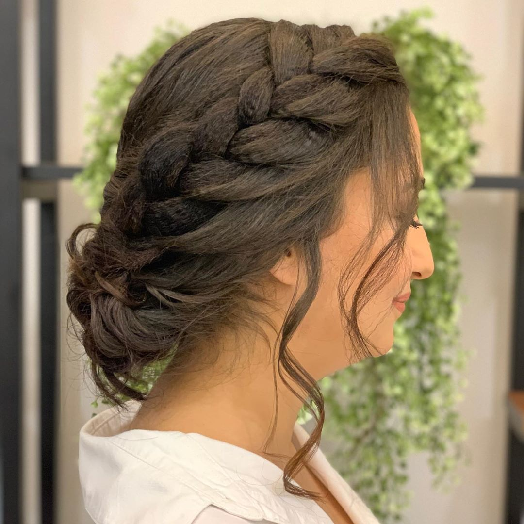 2020 Crown Braid Hairstyle (11)