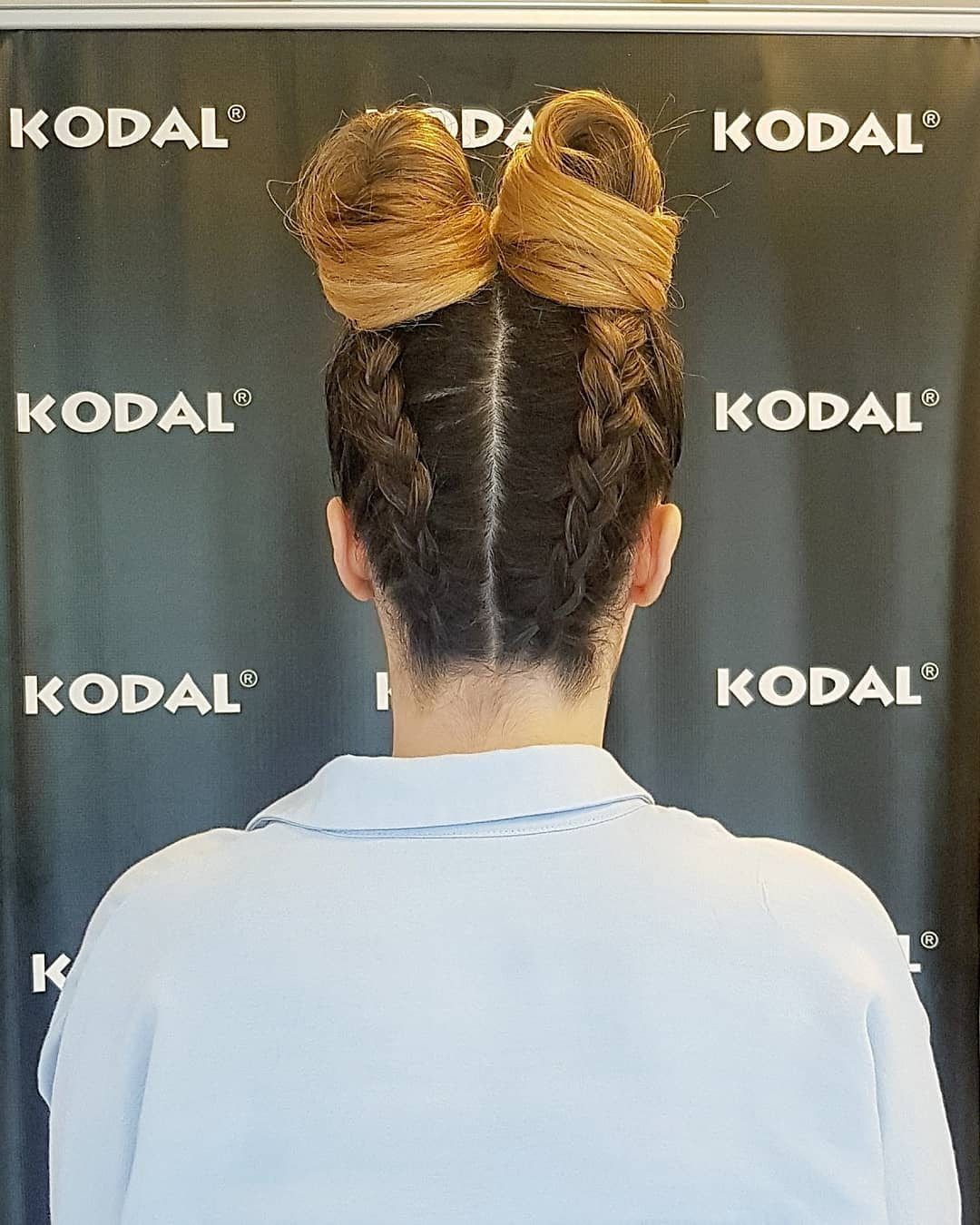 2020 Double Bun Hairstyle (8)
