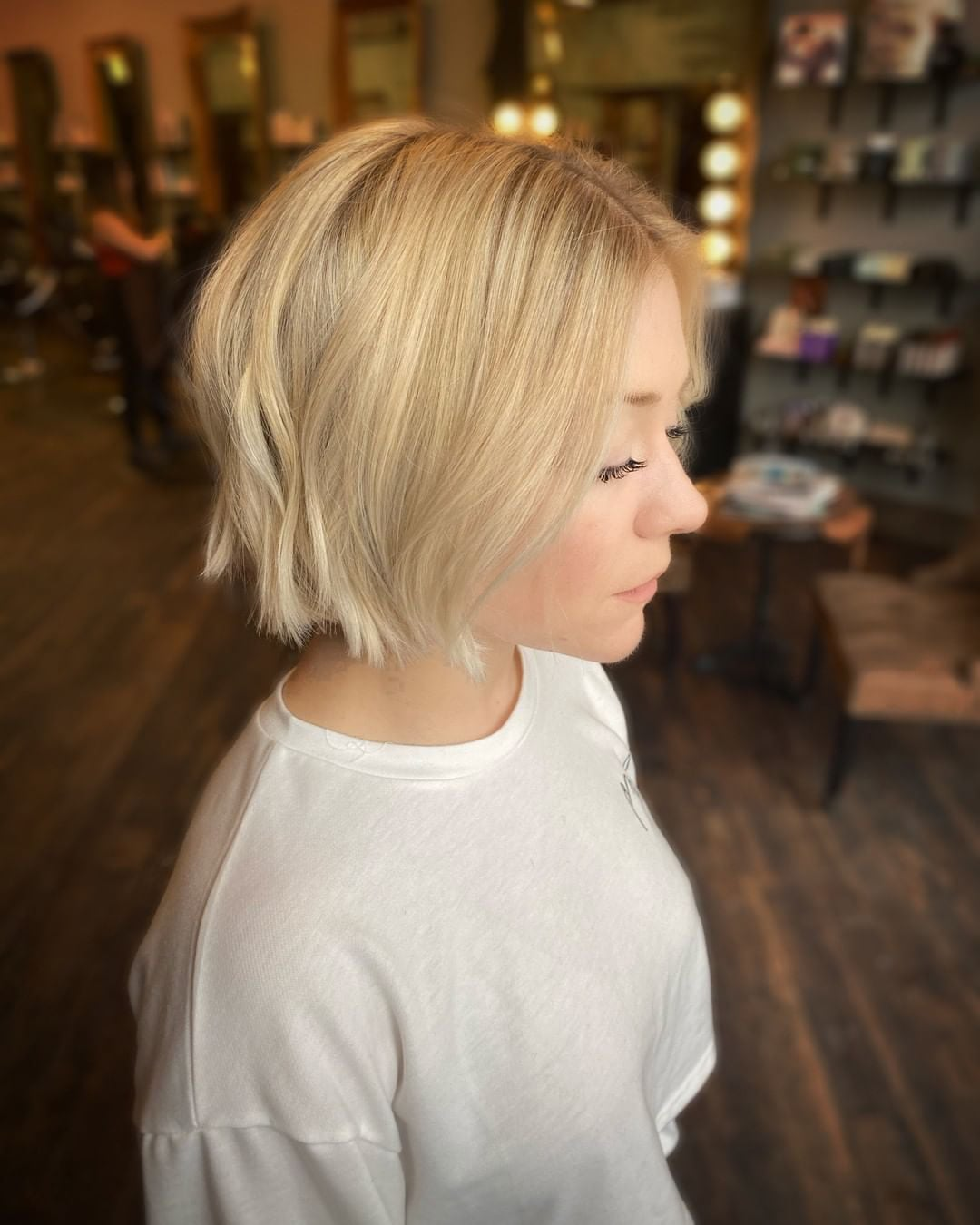 short bob hairstyles are in 2020 -03