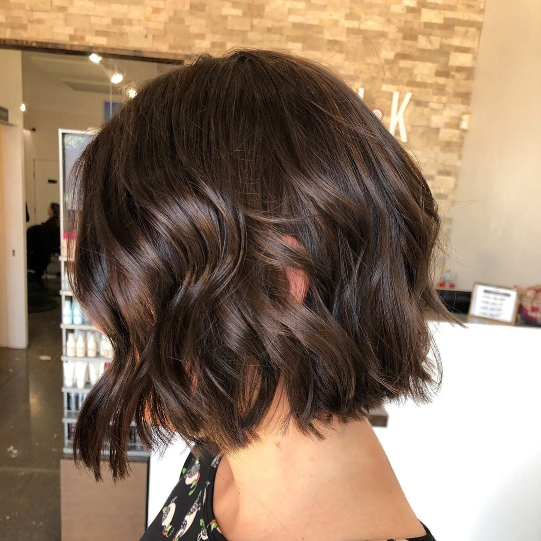 short bob hairstyles are in 2020 -06